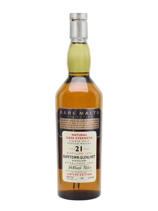 Dufftown-glenlivet 1975 / 21 Year Old Speyside Whisky