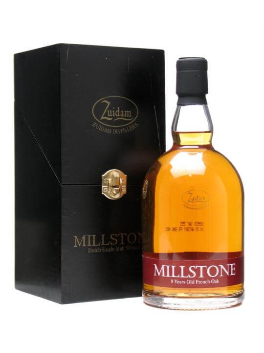 Zuidam Millstone / 8 Year Old / French Oak Dutch Single Malt Whisky