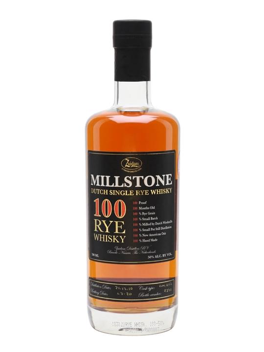Millstone 100 Rye Whiskey