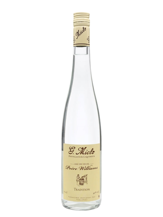 Poire William (Pear) Eau de Vie / G. Miclo