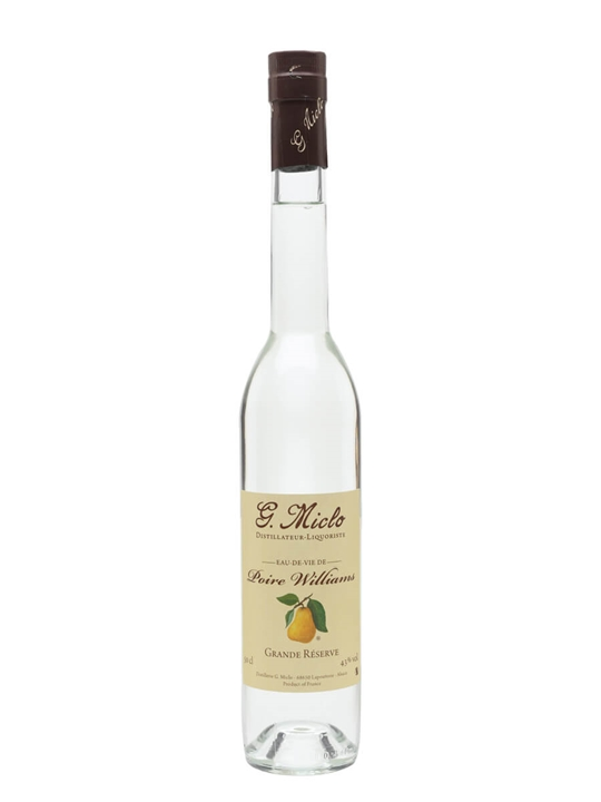Poire William Grande Reserve Eau de Vie / G. Miclo