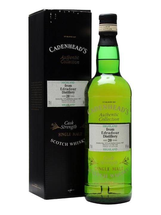 Edradour 1976 / 20 Year Old / Cadenhead's Highland Whisky