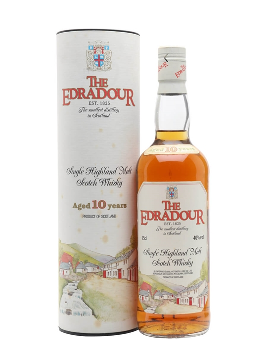 Edradour 10 Year Old / Bot.1980s Highland Single Malt Scotch Whisky