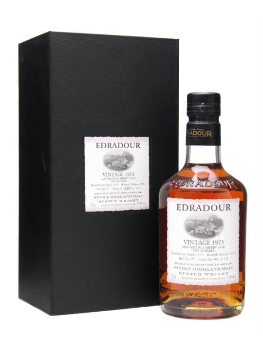 Edradour 1973 / 30 Year Old / Sherry Cask Highland Whisky
