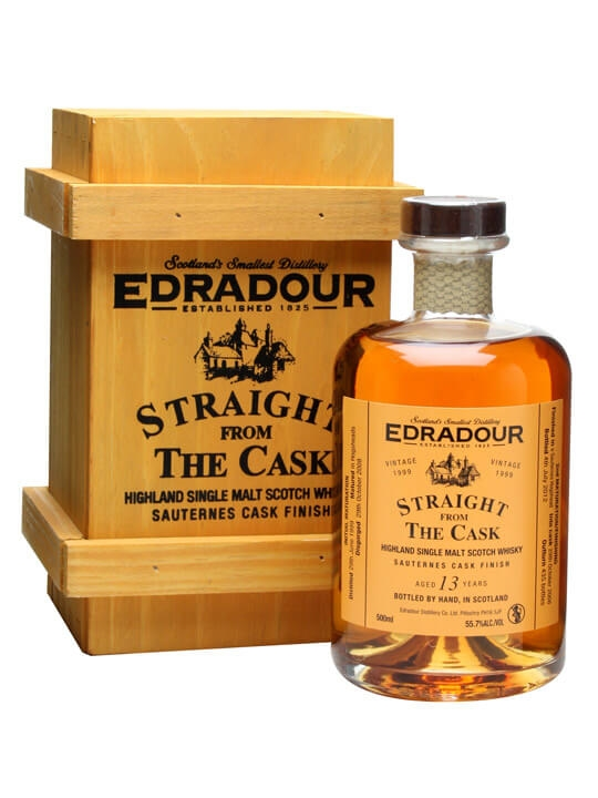 Edradour 1999 / 13 Year Old / Sauternes Finish Highland Whisky