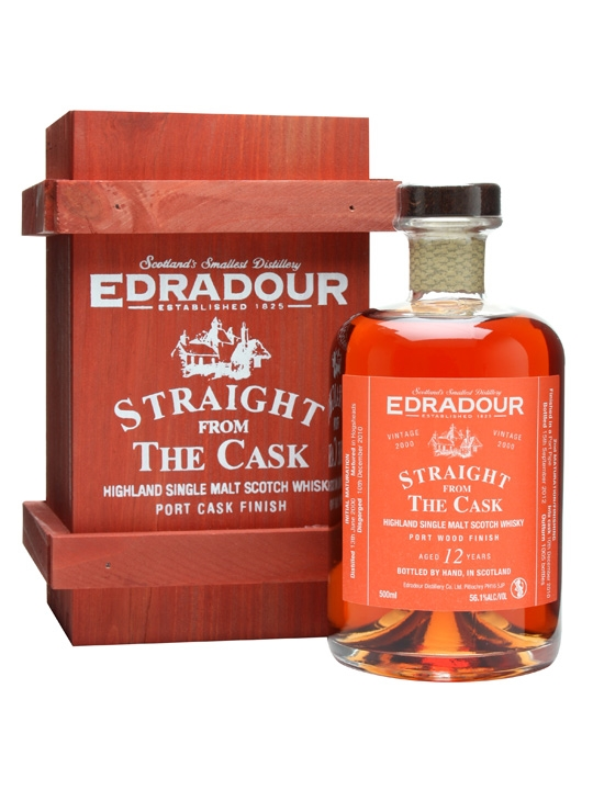 Edradour 2000 / 12 Year Old / Port Finish Highland Whisky