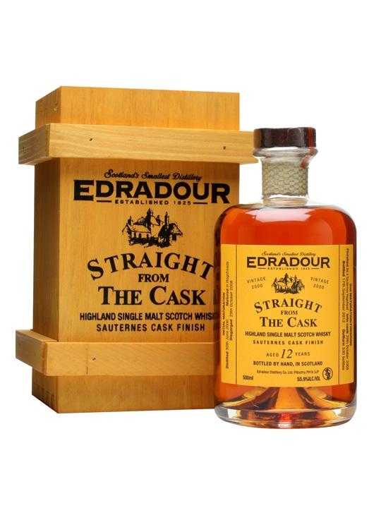 Edradour 2000 / 12 Year Old / Sauternes Finish Highland Whisky