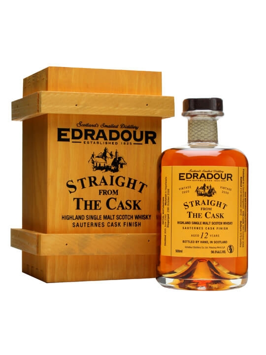 Edradour 2000 / 12 Year Old / Sauternes Finish Highland Whisky