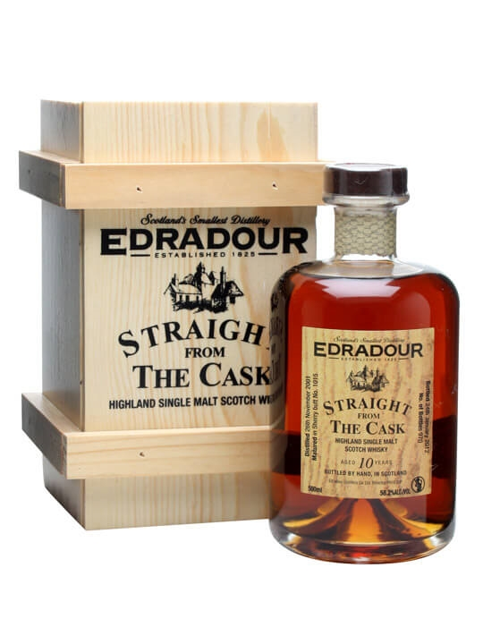 Edradour 2001 / 10 Year Old / Sherry Butt #1015 Highland Whisky