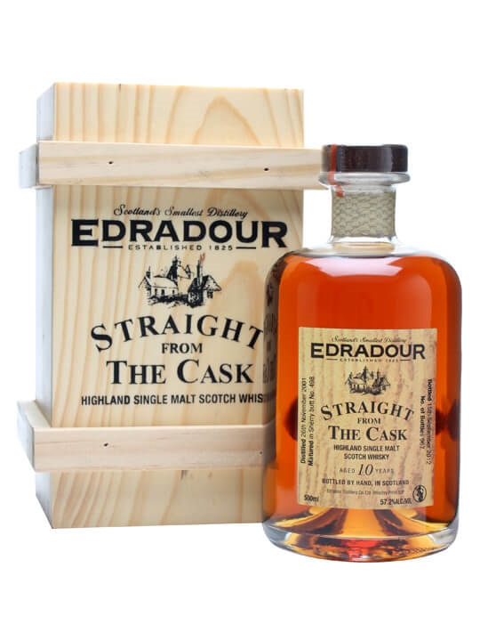 Edradour 2001 / 10 Year Old / Sherry But #498 Highland Whisky