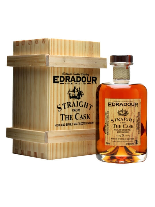 Edradour 2001 / 10 Year Old / Sherry Butt #530 Highland Whisky