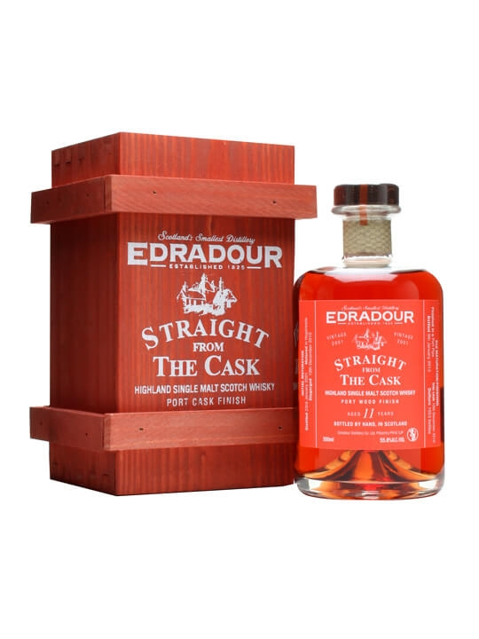 Edradour 2001 / 11 Year Old / Port Finish Highland Whisky