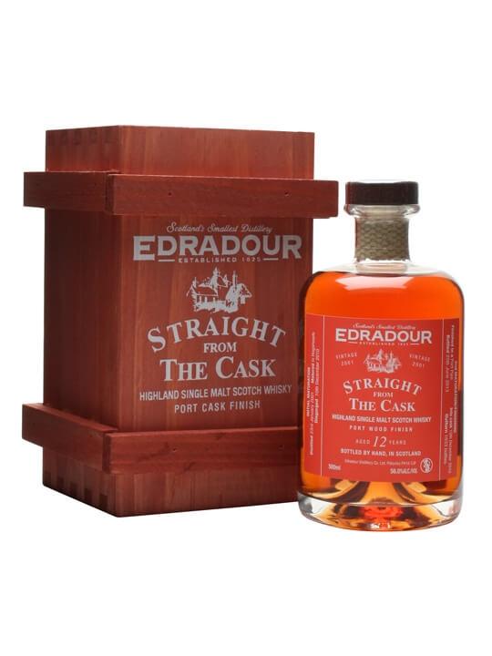 Edradour 2001 / 12 Year Old / Port Wood Finish Highland Whisky