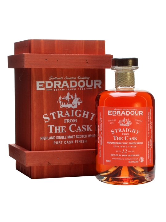 Edradour 2001 / 12 Year Old / Port Wood Finish Highland Whisky