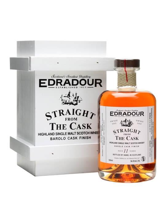 Edradour 2002 / 11 Year Old / Barolo Finish Highland Whisky