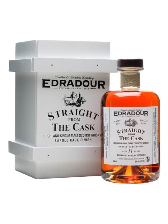 Edradour 2002 / 11 Year Old / Barolo Finish Highland Whisky