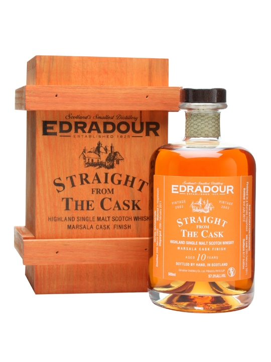 Edradour 2002 / 10 Year Old / Marsala Finish Highland Whisky