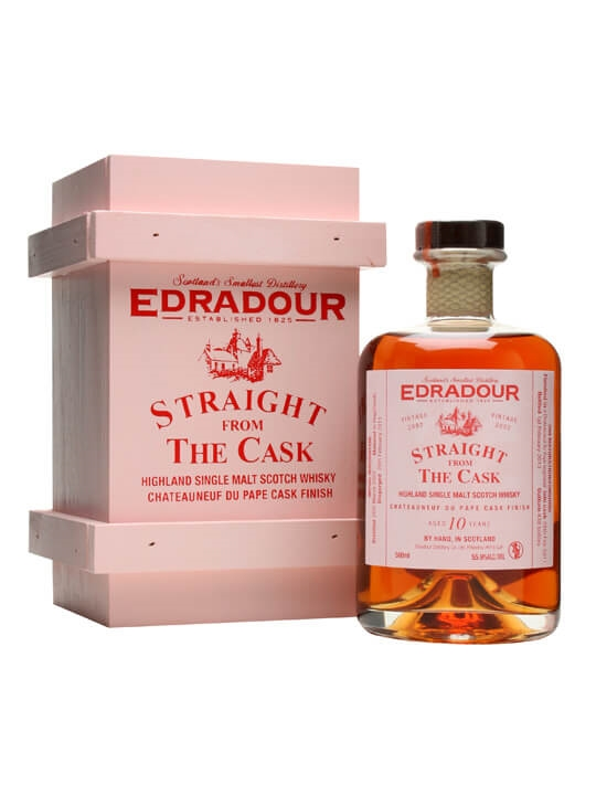 Edradour 2002 / 10 Year Old / Chateauneuf Du Pape Finish Highland Whisky