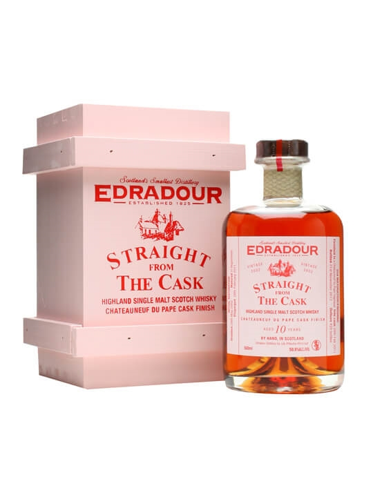 Edradour 2002 / 10 Year Old / Chateauneuf Du Pape Highland Whisky