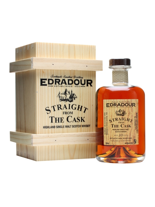 Edradour 2002 / 10 Year Old / Sherry Butt #462 Highland Whisky