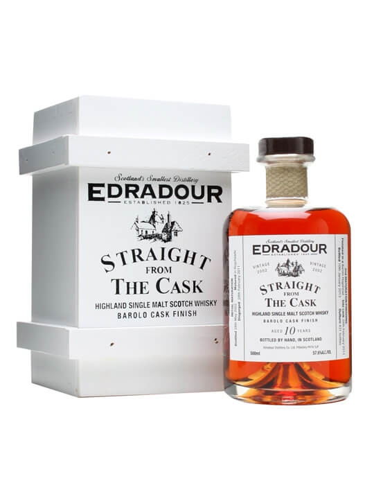Edradour 2002 / 10 Year Old / Barolo Finish Highland Whisky