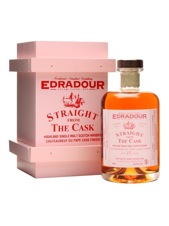 Edradour 2002 / 11 Year Old / Chateauneuf Du Pape Finish Highland Whisky