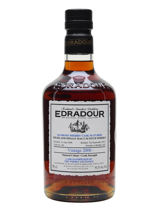 Edradour 2006 / Oloroso Cask #240 / Twe Exclusive Highland Whisky