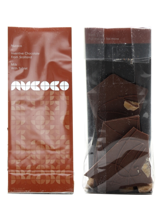 Nucoco / Milk Chocolate with Scottish Tablet / 125g