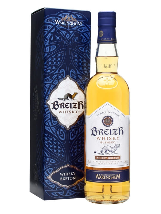 Armorik Breizh French Whisky (whisky Breton) French Blended Whisky