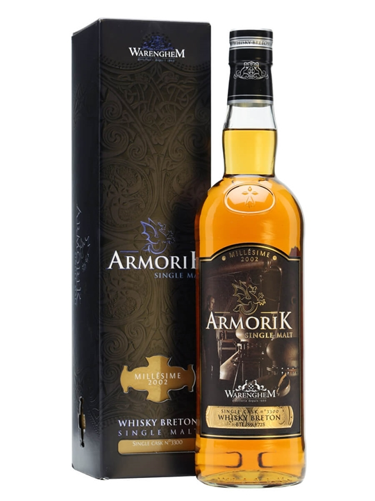 Armorik Millésime 2002 / Oloroso Sherry Cask #3261 French Whisky