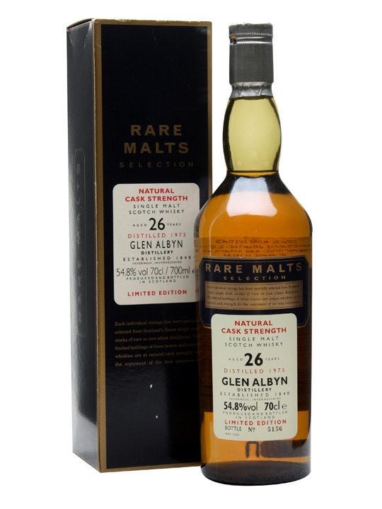 Glen Albyn 1975 / 26 Year Old / Rare Malts Highland Whisky