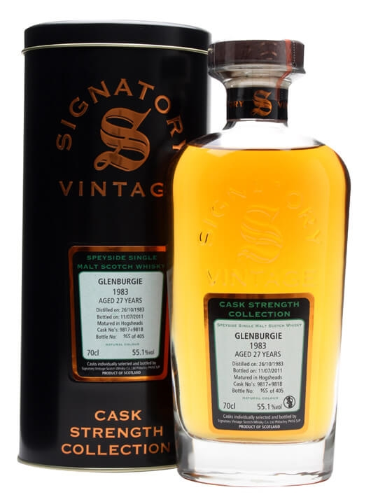 Glenburgie 1983 / 27 Year Old / Casks #9817+8 / Signatory Speyside Whisky