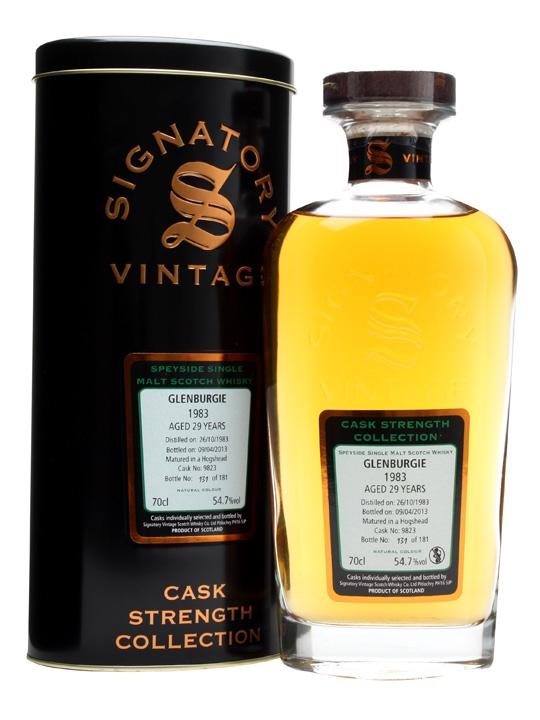 Glenburgie 1983 / 29 Year Old / Hogshead #9823 / Signatory Speyside Whisky