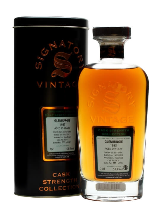 Glenburgie 1983 / 29 Year Old / Cask #9820 / Signatory Speyside Whisky