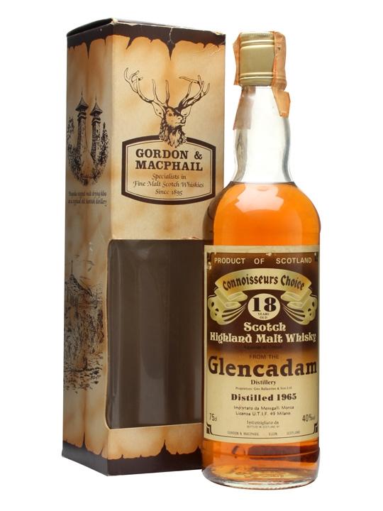 Glencadam 1965 / 18 Year Old Highland Single Malt Scotch Whisky