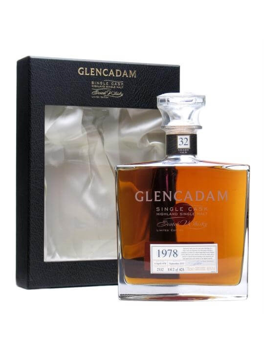 Glencadam 1978 / 32 Year Old / Sherry Cask Highland Whisky