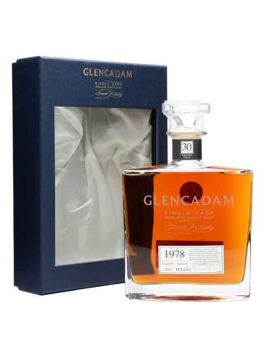 Glencadam 1978 / 30 Year Old / Cask #2335 Highland Whisky