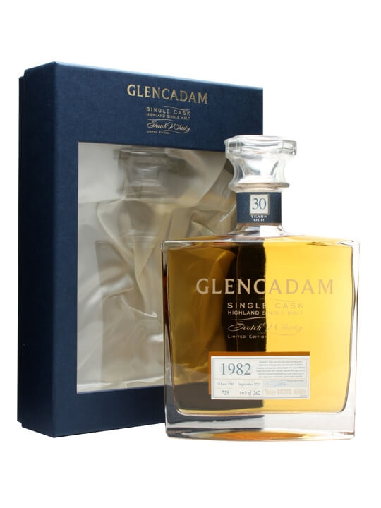 Glencadam 1982 / 30 Year Old Highland Single Malt Scotch Whisky