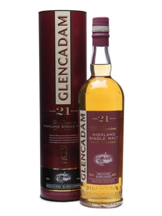 Glencadam 21 Year Old Highland Single Malt Scotch Whisky