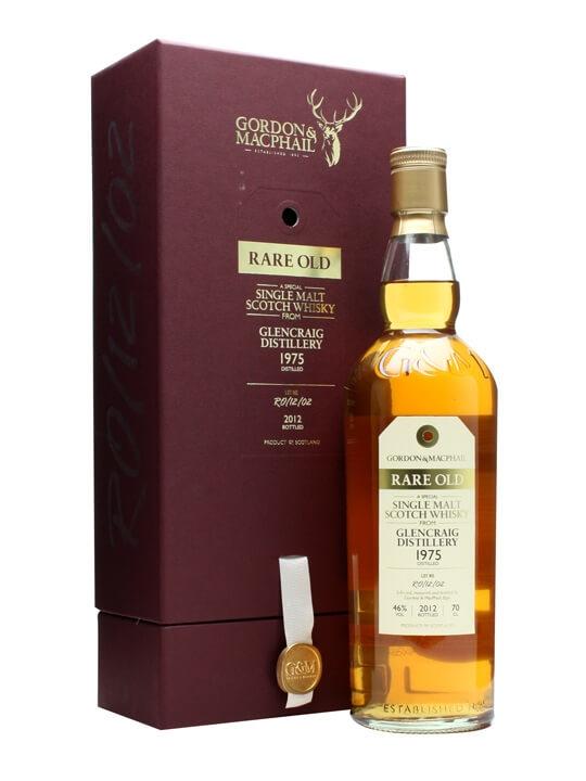 Glencraig 1975 / Rare Old / Gordon & Macphail Speyside Whisky