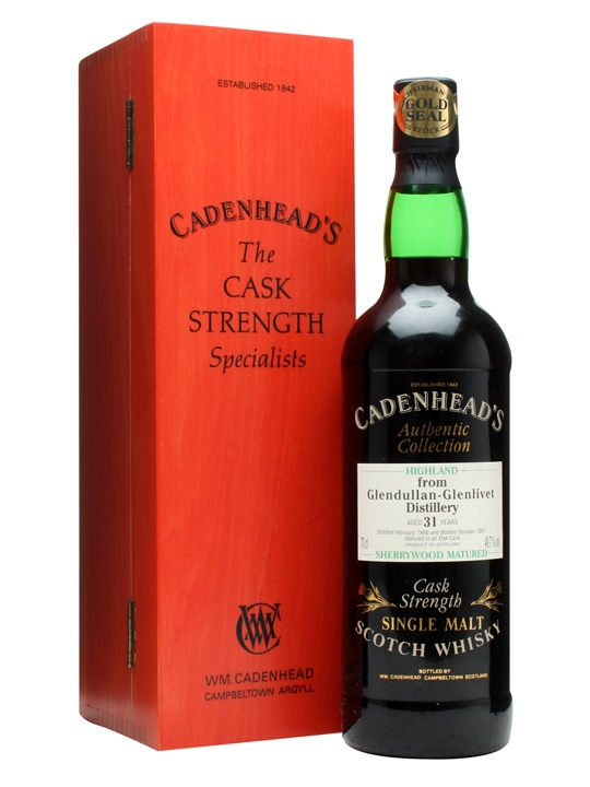 Glendullan 1966 / 31 Year Old / Sherry Cask / Cadenhead's Speyside Whisky