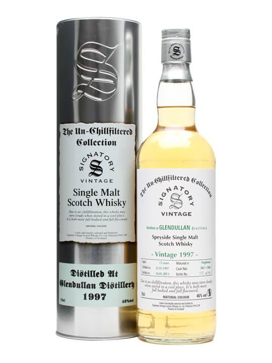 Glendullan 1997 / 15 Year Old / Hogshead #5067+8 / Signatory Speyside Whisky