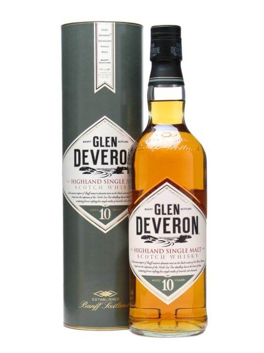 Glen Deveron 10 Year Old Speyside Single Malt Scotch Whisky