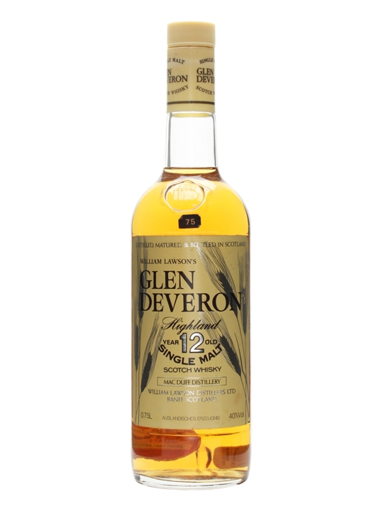 Glen Deveron 12 Year Old / Bot.1980s Speyside Whisky