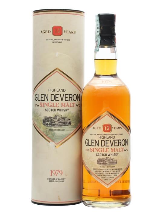 Glen Deveron 1979 / 12 Year Old Highland Single Malt Scotch Whisky