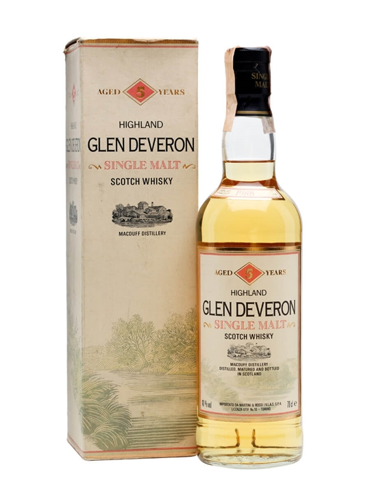 Glen Deveron 1987 / 5 Year Old Highland Single Malt Scotch Whisky