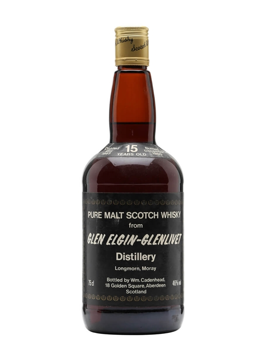 Glen Elgin-glenlivet 1965 / 15 Year Old Speyside Whisky