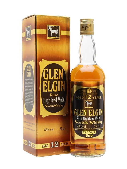 Glen Elgin 12 Year Old / Bot.1980s Speyside Single Malt Scotch Whisky
