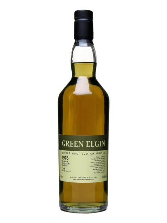 Green Elgin 1976 / 32 Year Old Speyside Single Malt Scotch Whisky