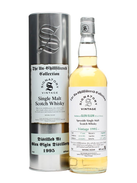 Glen Elgin 1995 / 17 Year Old / Casks #1149+50 / Signatory Speyside Whisky